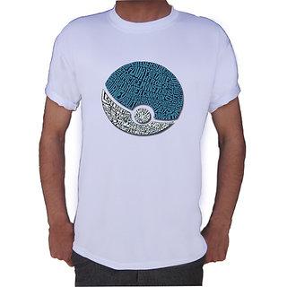 Pokemon Ball Printed T-shirt By Shopkeeda