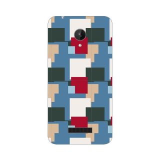 Designer Plastic Back Cover For Micromax Canvas Spark Q380