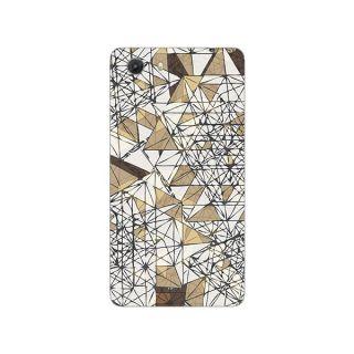 Designer Plastic Back Cover For Micromax Unite3 Q372