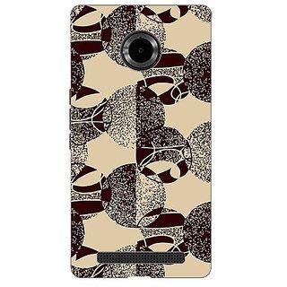 Designer Plastic Back Cover For Micromax YU Yuphoria YU5010