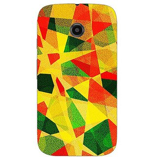 Designer Plastic Back Cover For Motorola Moto E