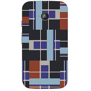 Designer Plastic Back Cover For Motorola Moto E2