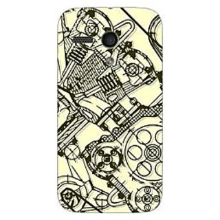 Designer Plastic Back Cover For Motorola Moto G