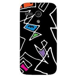 Designer Plastic Back Cover For Motorola Moto G