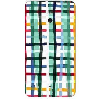 Garmor Designer Plastic Back Cover For Nokia Lumia 1320