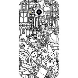 Garmor Designer Plastic Back Cover For Samsung Galaxy Core Max