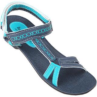e4a5c62633def VKC Walkaroo Blue Sandals for Women-5309