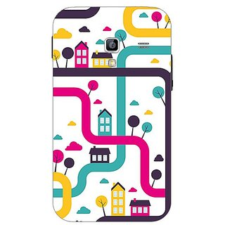 Garmor Designer Plastic Back Cover For Samsung Galaxy Ace Plus S7500