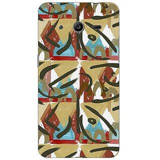 Garmor Designer Plastic Back Cover For Samsung Galaxy Core II SM-G355H
