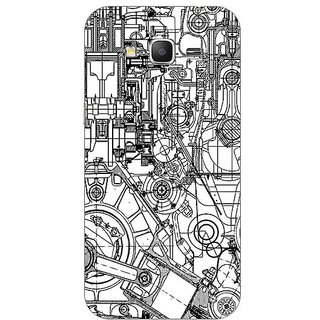 Garmor Designer Plastic Back Cover For Samsung Galaxy Grand Prime SM-G530