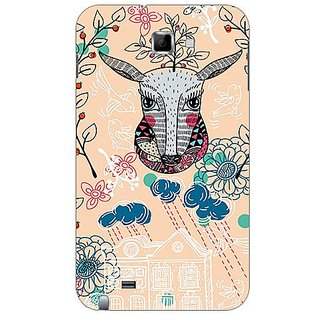 Garmor Designer Plastic Back Cover For Samsung Galaxy Note N7000