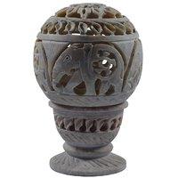 Shopstone Elephant Carved Tea Light Holder Best Decorative Item