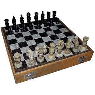 White Marble Chess Board With Marble Peace Best Gift Item 8 Inch