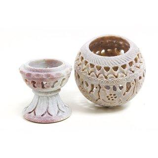 Shopstone Elephant Work Tea Light Holder Best Decorative Item