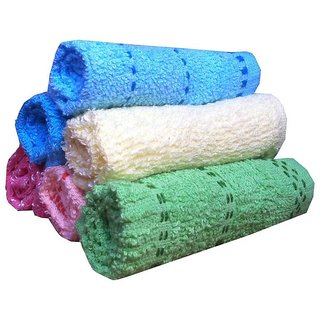 Xy Decor Pack of 6 Cotton Face Towel