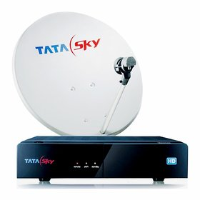 Tata Sky HD Pack with 1 month Services Free