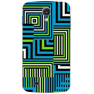 Garmor Designer Plastic Back Cover For Samsung I9500 Galaxy S4
