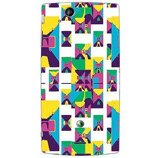 Garmor Designer Plastic Back Cover For Sony Ericsson Xperia Arc X12