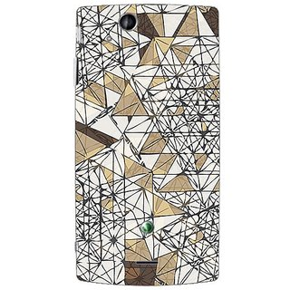 Garmor Designer Plastic Back Cover For Sony Ericsson Xperia Arc X12