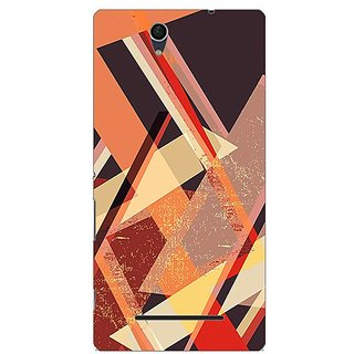 Garmor Designer Plastic Back Cover For Sony Xperia C3