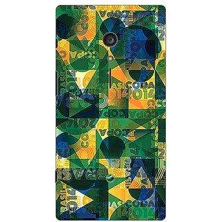 Garmor Designer Plastic Back Cover For Sony Xperia ION