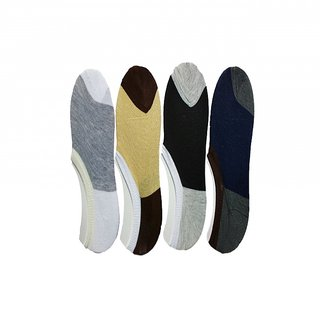 Ashish collections 6 pair Mens Solid No Show Socks