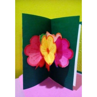 Handmade Designer Greeting Cards with multicolour