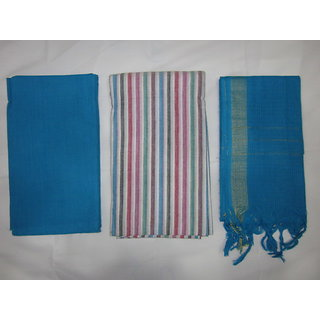 Mangalagiri Cotton Dress Material SMC - F22