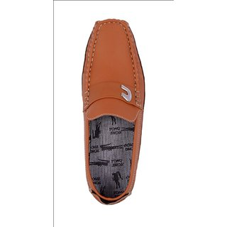 Amit fashion Teak color C shaped Driving Shoes