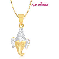 Ganpati God Pendant With Chain Lockets For Men And Women Cz Gp207