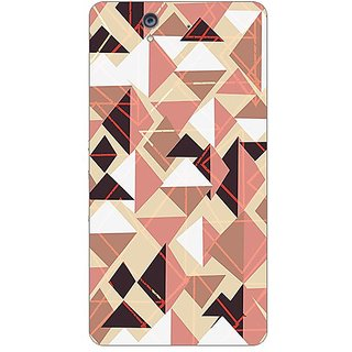 Garmor Designer Plastic Back Cover For Sony Xperia Z
