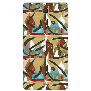 Garmor Designer Plastic Back Cover For Sony Xperia ZR