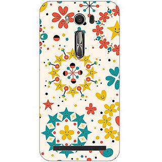 Garmor Designer Plastic Back Cover For Asus Zenfone 2 Laser ZE550KL