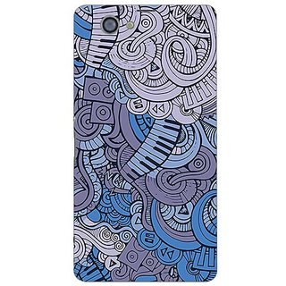 Garmor Designer Plastic Back Cover For Sony Xperia Z1 Compact