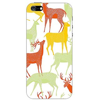 Garmor Designer Plastic Back Cover For Apple iPhone 5