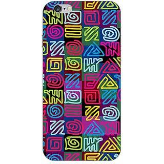 Garmor Designer Plastic Back Cover For Apple iPhone 6s