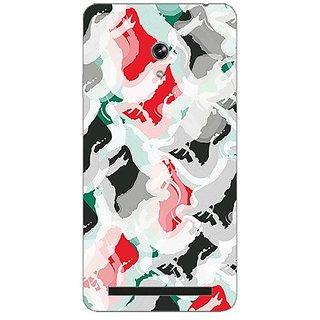 Garmor Designer Plastic Back Cover For Asus Zenfone 5 A500CG