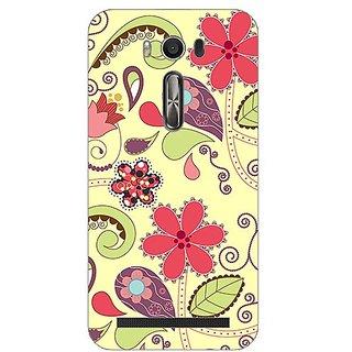 Garmor Designer Plastic Back Cover For Asus Zenfone 2 Laser ZE500KL