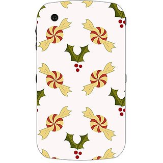 Garmor Designer Plastic Back Cover For BlackBerry Curve 8520