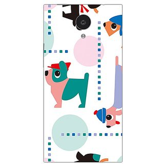 Garmor Designer Plastic Back Cover For Gionee Elife E7