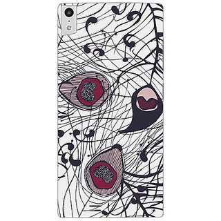 Garmor Designer Plastic Back Cover For Gionee Elife S5.5