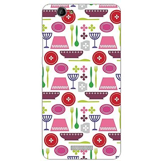 Garmor Designer Plastic Back Cover For Gionee M2