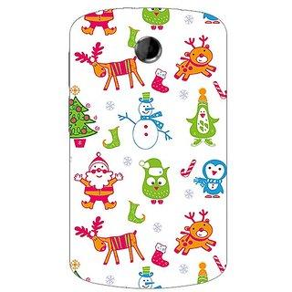 Garmor Designer Plastic Back Cover For HTC A310