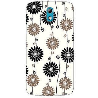 Garmor Designer Plastic Back Cover For HTC Desire 526