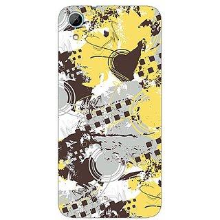 Garmor Designer Plastic Back Cover For HTC Desire 626