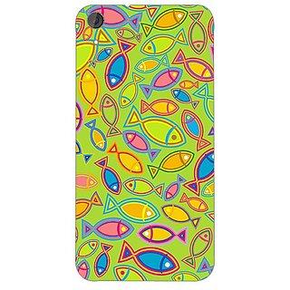 Garmor Designer Plastic Back Cover For HTC Desire 820