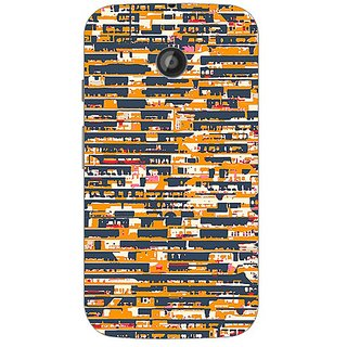 Garmor Designer Plastic Back Cover For Motorola Moto E2