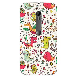 Garmor Designer Plastic Back Cover For Motorola Moto G3