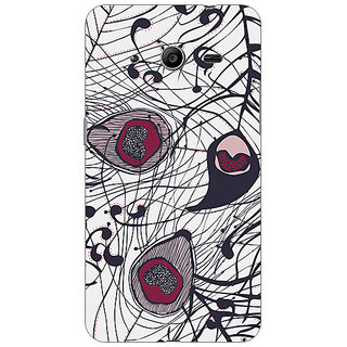 Garmor Designer Plastic Back Cover For Samsung Galaxy Core 2 SM-G355H