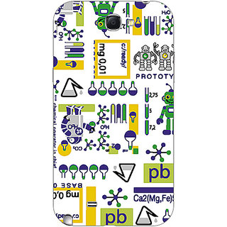 Garmor Designer Plastic Back Cover For Samsung Galaxy Note II N7100